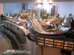 Awesome slot car track