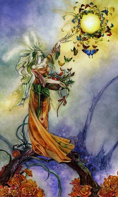 The Empress in the Shadowscapes Tarot