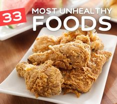 This is a great list of unhealthy foods you need to avoid. See the negative impact they have on your body & health.