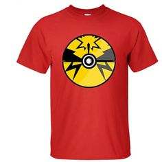 9971c134 Men #Pokemon Go Black Print Short Sleeve T #Shirts KTST1607201 - Kalolia  Black Print