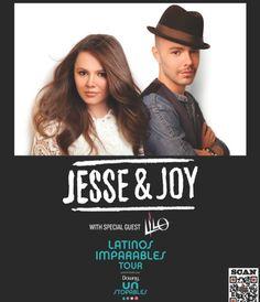 Latin music fans! Alternative folk duo Jesse & Joy headline Latinos Imparables Tour with special guest LILO.