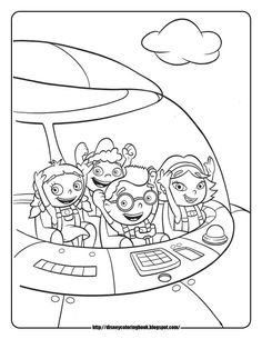 Disney Coloring Pages And Sheets For Kids Little Einsteins