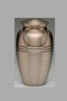 Urne funéraire bronze