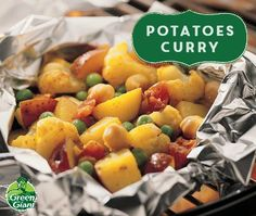 Potatoes Curry using Green Giant veggies. This meal-in-a-pouch ...