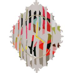 Garima Dhawan Painted Twigs 1 Baroque Clock | DENY Designs Home Accessories