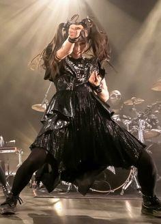Moa Kikuchi, Goth, Concert, Metal, Music, Anime, Photos, Women, Style