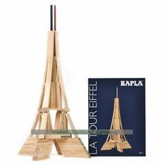 Tour Eiffel, Jenga Blocks, France Eiffel Tower, Wooden Building Blocks, Paris Map, Assemblage, Chicago Restaurants, Activities For Kids, Diy And Crafts