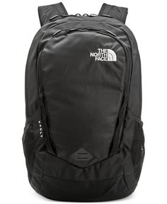 The North Face Vault backpack safely stores your laptop and gadgets and features a stitched foam back panel for comfort while you carry it on the go. | Polyester | Spot clean | Imported | Compatible w