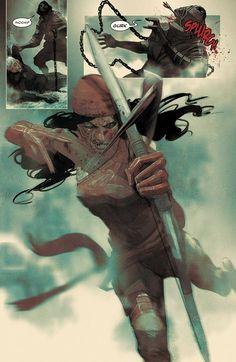 Elektra by Mike Del Mundo *