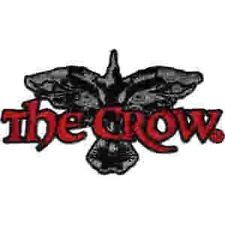 The Crow Movie Logo Embroidered Patch, NEW UNUSED