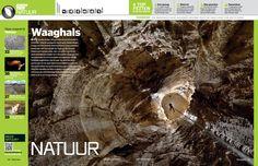 Dit is de Gouffre Berger, een grot niet ver van Grenoble in Frankrijk. Toen de naamgever van de grot, Joseph Berger, in 1954 voor het eerst de afdaling maakte in het eindeloze zwarte gat, wist hij nog niet dat hij de op dat moment diepste grot ter wereld had gevonden.