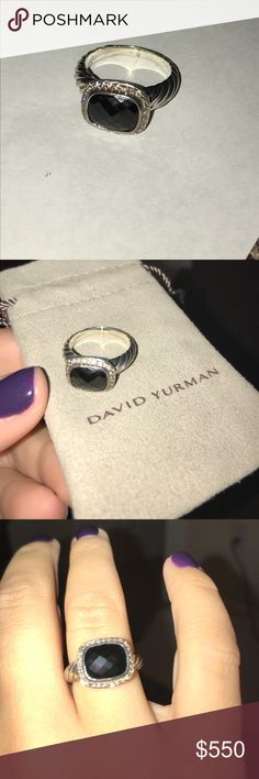 David yurman black onyx ring size 7 David yurman black onyx ring size 7 David Yurman Jewelry Rings