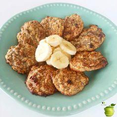 Galletitas de Banana y Avena