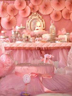 Ballerina Birthday Party Ideas | Photo 2 of 19 | Catch My Party