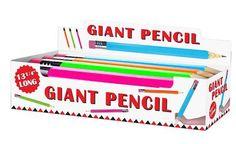 Jumbo Pencil Display - Multicolor