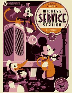 Mickey's Service Station (1935) - Tom Whalen