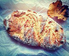 Το εύκολο ψωμί χωρίς ζύμωμα, της Ελπίδας Χαραλαμπίδου - Argiro.gr Bread, Food, Brot, Essen, Baking, Meals, Breads, Buns, Yemek