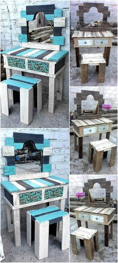 Vanity is mandatory in a room, especially when the room belongs to a girl because there are makeup items to be placed on it. So, a vanity should be graceful if the person wants to make the room give a unique look, the vanity can be created at home using the used wood pallets and you will be amazed viewing the end result as we are going to show a vanity idea here, which is made impressive with the pallets and paint on them. Have a look at the reclaimed wood pallet vintage vanity project and…