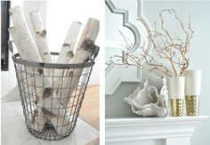 For either a cottage or a coastal look....clean , simple and organic.