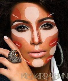 How to apply makeup contouring Image Source: Glamour Magazine