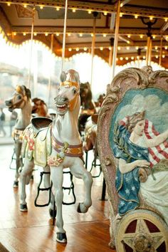 Next opportunity, I'm on this. Kisses on a carousel, imagine that.