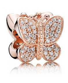Black Friday Pandora Rose Sparkling Butterfly Clearance Sale