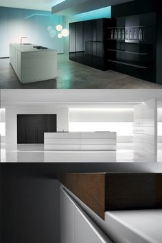 The latest in futuristic kitchen design. #DidYouKnow chopping could look this good? Dive into this material by Minimal. USA