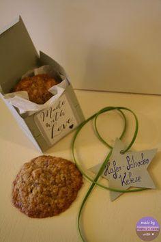 Carnberry- Knusper- Keks  Schocko-Knusper -Keks  und Müsli Keks