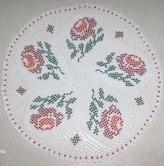 -Beaded Doilies From Speedwell