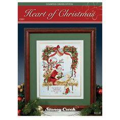 Stoney Creek Chart Packs-Heart Of Christmas