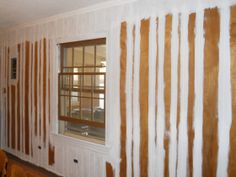 How To Paint Wood Paneling Walls With Grooves