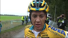 Interview met Tom Meeusen na de cross in Gieten.| Superprestige Gieten 05-10-2014
