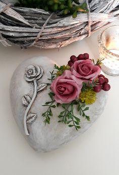 Foam Roses, Clay Jewelry, Berries, Ornaments, Heart, Tableware, Diy, Decor, Pottery Ideas