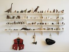 Dinosaur display.