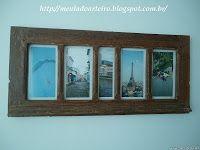Janelas de demolição - porta retrato - Meu lado arteiro