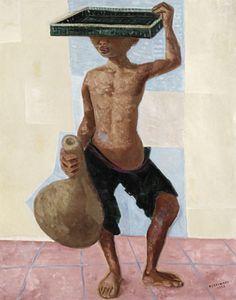 Menino do tabuleiro - 1947 Cândido Portinari