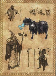 Warhammer Art, Warhammer Fantasy, Warhammer Vampire Counts, Fb Games, Creative Assembly, Dark Phoenix, Fantasy Creatures, Game Art, Egyptian