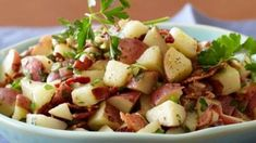 Check out this recipe! Green Peppercorn, Peppercorn Sauce, Bbq Table, Sliced Potatoes, Recipe Ratings, The Dish, I Foods, Potato Salad, Side Dishes