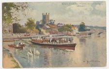 Salter's Oxford & Kingston Steamer, Henley, Matthison Art Postcard #2, B270