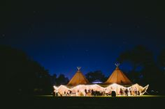 Tipi wedding tents   Image by Bonnie Jenkins