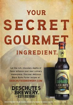 We like cooking with Black Butte Porter, how about you?