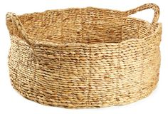 Always good to have baskets around! this one is from One Kings Lane