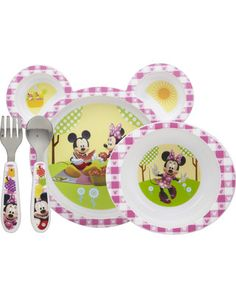 The First Years Minnie Mouse 4 pc Feeding Set