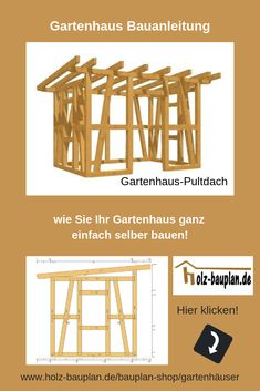 gartenhaus selber bauen h uschen in 2018 pinterest gartenhaus haus und garten. Black Bedroom Furniture Sets. Home Design Ideas