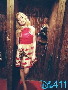 Photo: Peyton List Pretty In A Phone Booth February 10, 2014
