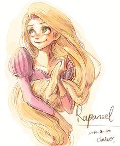 Rapunzel by chacckco.deviantart.com on @deviantART