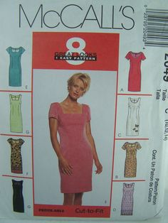 McCall's 2049 Sewing Pattern  Misses' Short by WitsEndDesign, $8.00