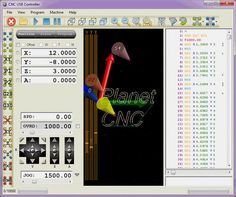 Download latest version of software and try it yourself. All CNC USB controller functions are specially designed to work accessible through software.