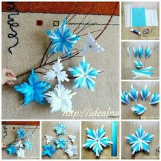 In this DIY tutorial, we will show you how to make Christmas decorations for your home. The video consists of 23 Christmas craft ideas. Diy Christmas Videos, Christmas Paper Crafts, Christmas Art, Holiday Crafts, Christmas Ornaments, Diy Crafts To Sell, Diy Crafts For Kids, Paper Decorations, Christmas Decorations