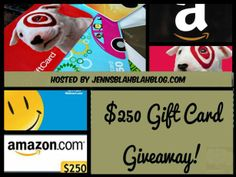 240 gift card giveaway #Giveaway: Enter To #Win $250 Gift Card Winners Choice